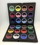 Professional Kit 24 face paint, professional, Ruby Red Paints, facepaint, party, schools