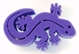 Gecko Brush Holder - Purple